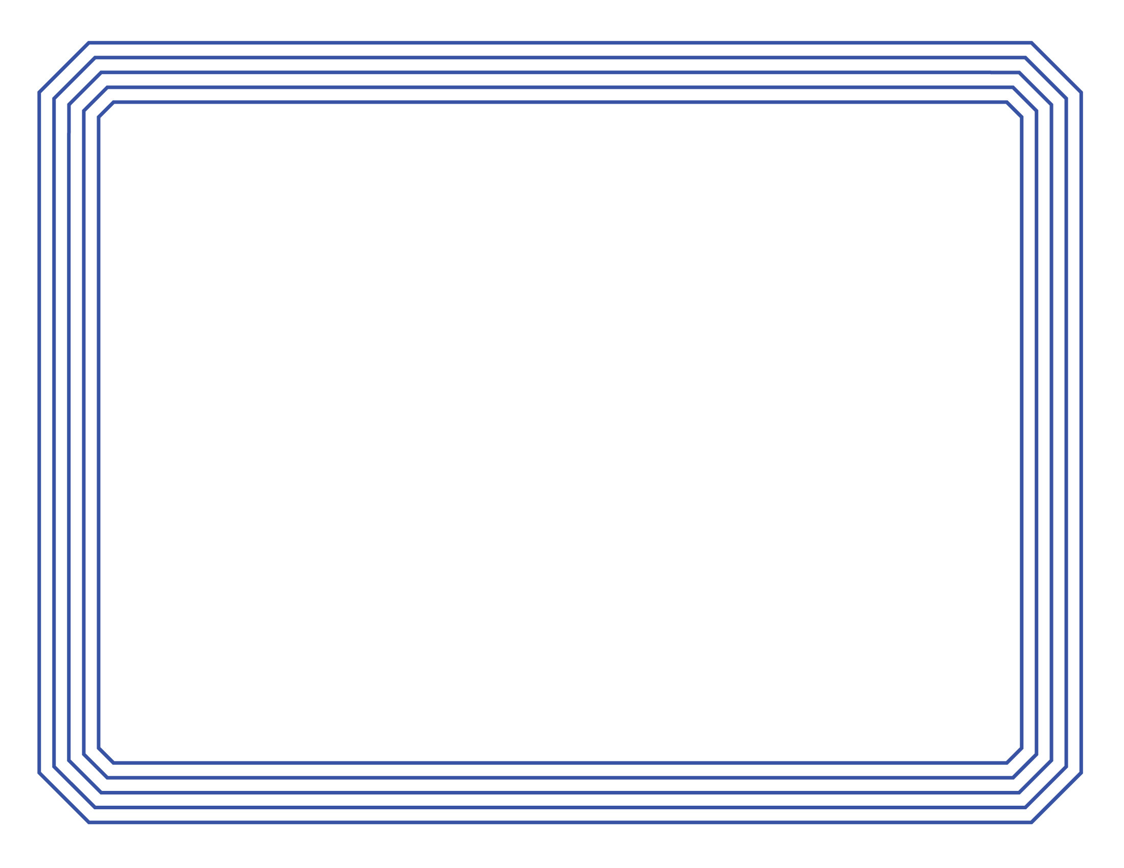 Blue certificate border template wwwimgkidcom the image kid has it for Blue certificate border