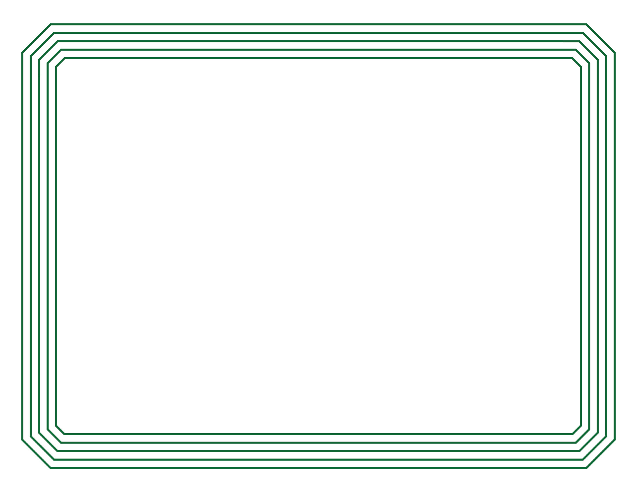 Certificate border 1 for Certificate border template