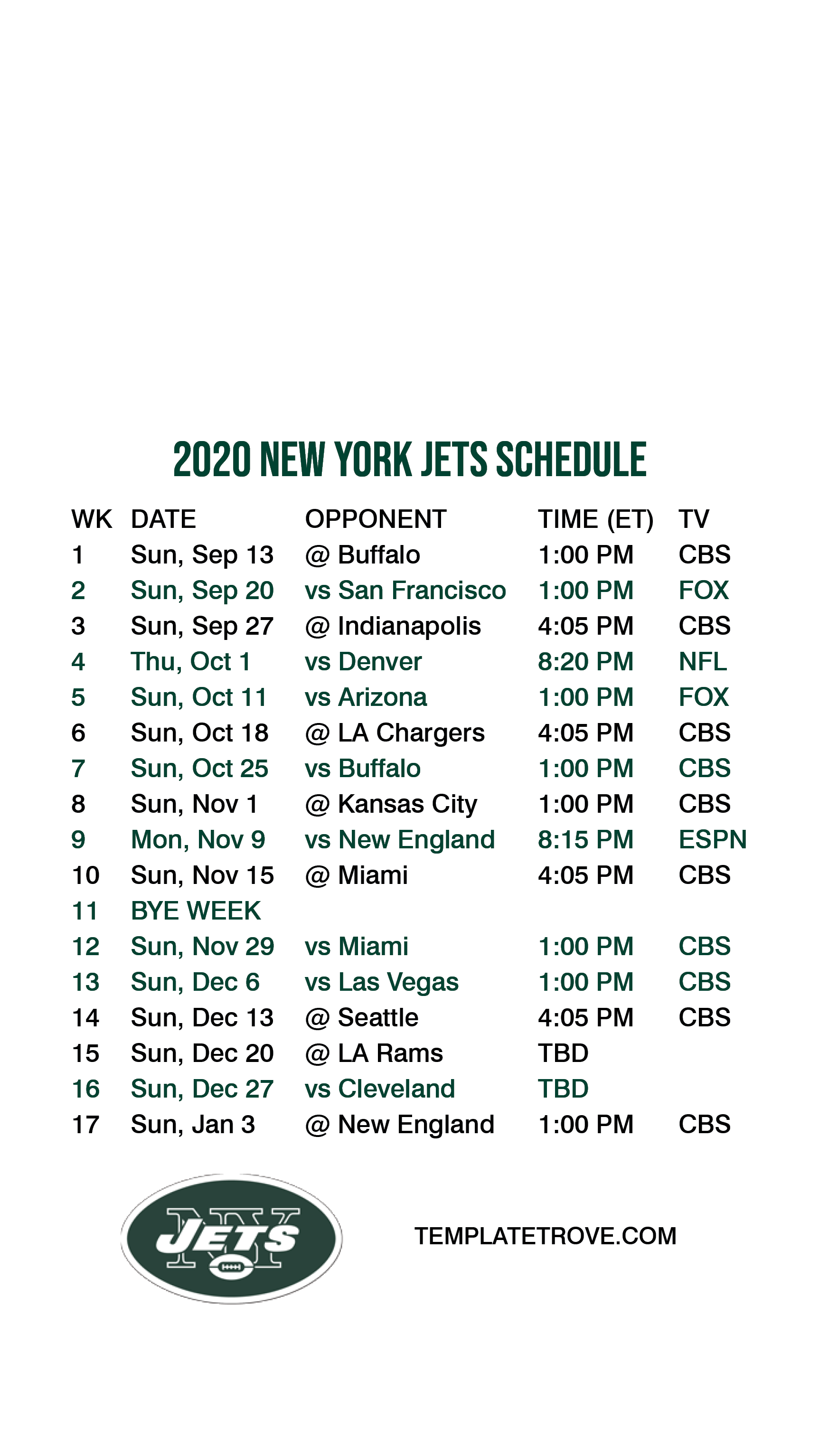 2020 2021 New York Jets Lock Screen Schedule For Iphone 6