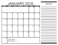 Free Monthly Calendar 2